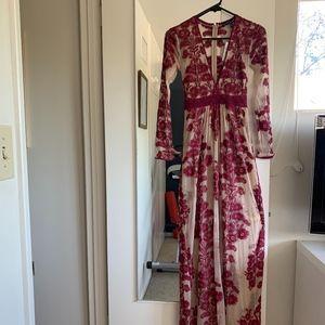 NWT For Love and Lemons Temecula Maxi Dress